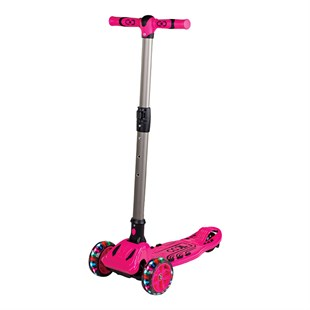 Cool Wheels 3 Tekerlekli Katlanabilir Maxi Twist Pembe Scooter